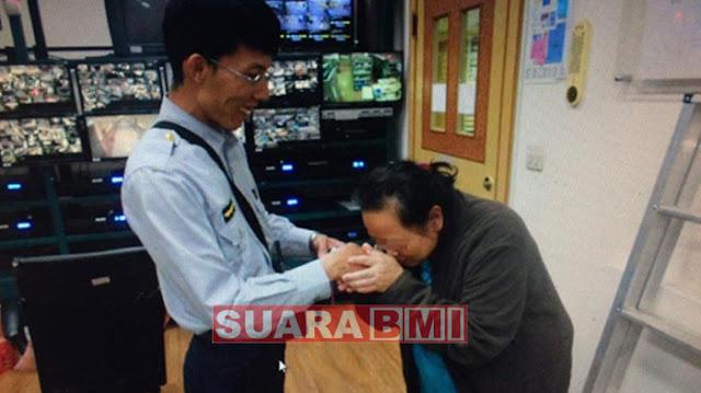 Hebat....! Polisi Taiwan Mampu Menemukan Barang TKW Indonesia yang Hilang Dalam Waktu 3 Jam Saja