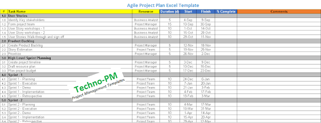 agile project plan template excel, excel agile project plan template