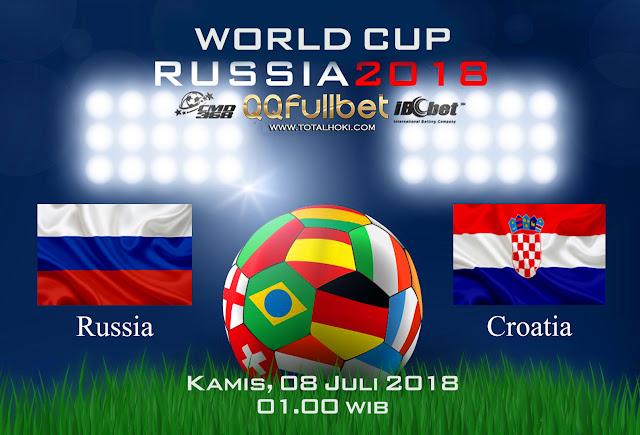 BOLA88 - PREDIKSI 8 BESAR PIALA DUNIA: RUSSIA VS KROASIA 08 JULI 2018 ( RUSSIA WORLD CUP 2018 )