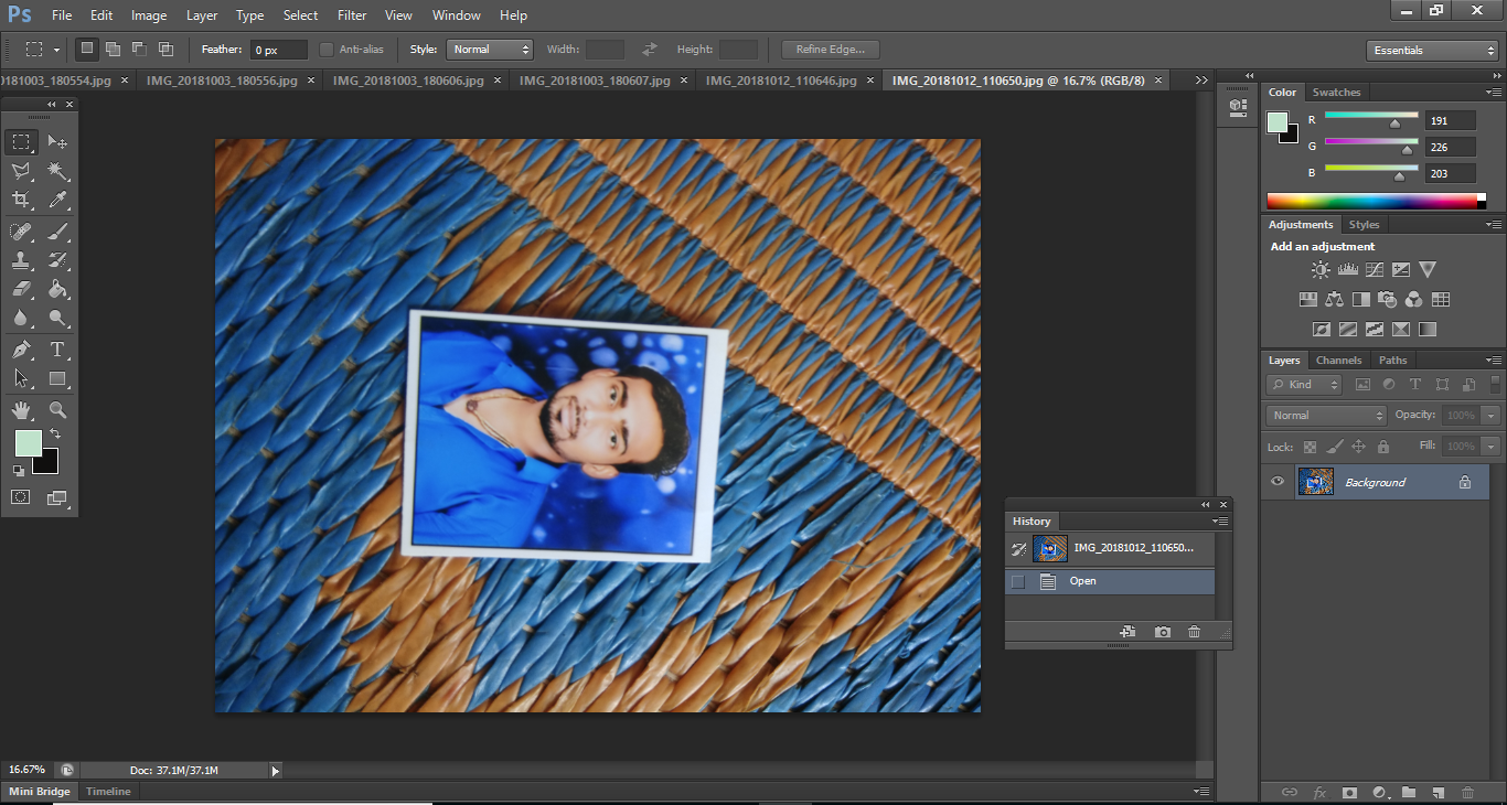 Photoshop CS6 and Mac Sierra Adobe
