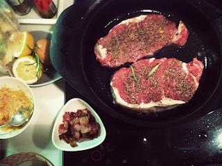 燭光晚餐 情人節大餐 牛排食譜