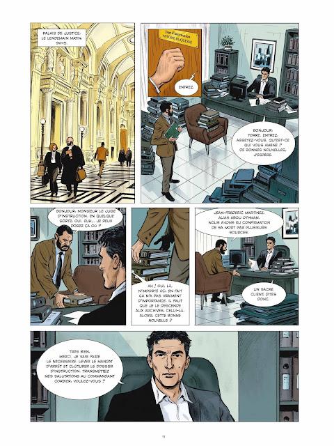 Compte à rebours tome 1 - Es Shahid Page 11 éditions Rue de Sèvres
