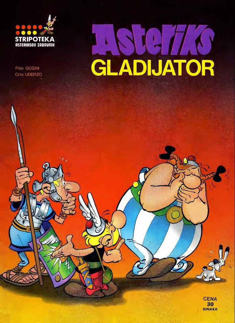 Asteriks gladijator - Asteriks