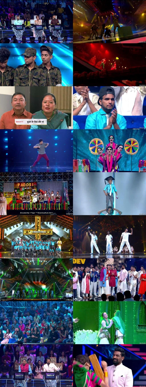Screenshots Of Hindi Show Dance Plus Season 04 1st December 2018 Episode 16 300MB 480P HD