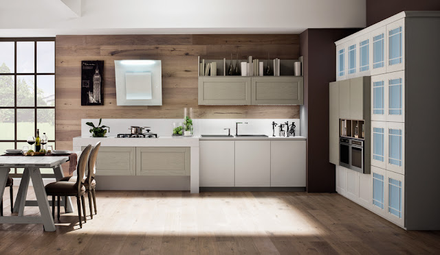 white contemporary timeless kitchens with glass cabinet doors