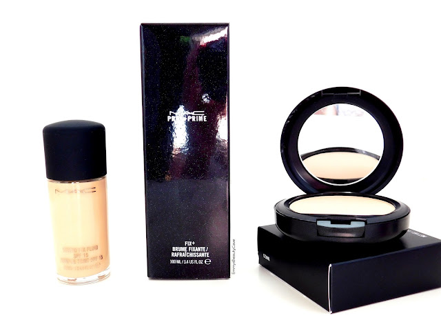 MAC Studio Fix Foundation, MAC Fix Plus, MAC Studio Fix Powder Plus Foundation