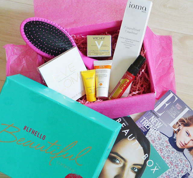 LookFantastic - Beauty Box (#LFHELLOBEAUTIFUL - Mai 2016)