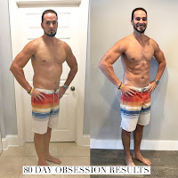 80 day obsession results, workout, accountability, man, guy, fitness, program,
