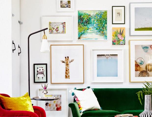 Do It Yourself Art: Susan Hawke : Do-it-yourself Wall Art Ideas
