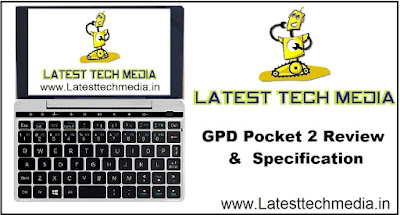 GPD Pocket 2 Review | GPD Pocket 2 Specification