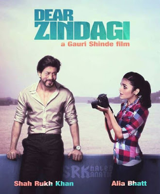 Poster Of Hindi Movie Dear Zindagi 2016 Full HD Movie Free Download Watch Online