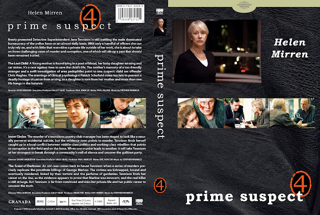 Prime Suspect Season 4 DVD Cover