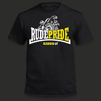 Camiseta oficial de Rude Pride