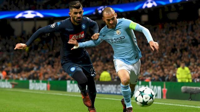 Prediksi Napoli vs Manchester City, 01 November 2017