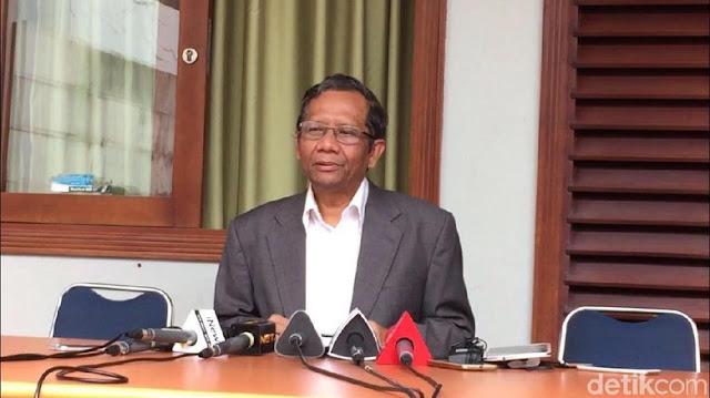 Mahfud MD Menolak Tegas Tawaran PKS, PAN dan Gerindra untuk Maju Pilgub Jatim
