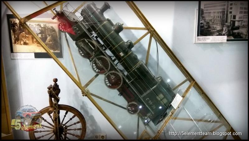 Макет паровоза С-99-35 в музее Высота Маршала Конева