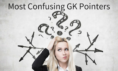 Most Confusing GK Pointers - Part 85