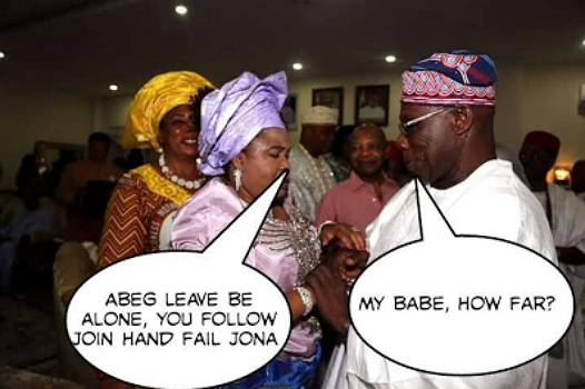 obasanjo patience jonathan jokes