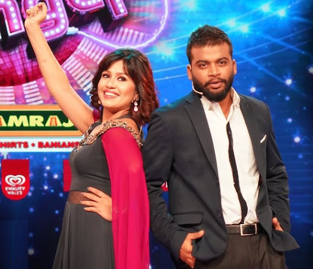 Renjini Haridas back on mini-screen as co-host of  Surya Super singer along with Dian Davis