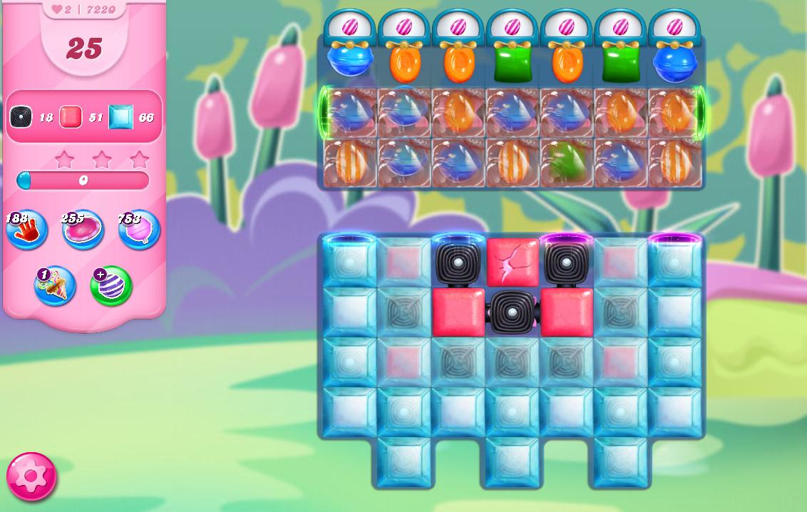 Candy Crush Saga level 7220