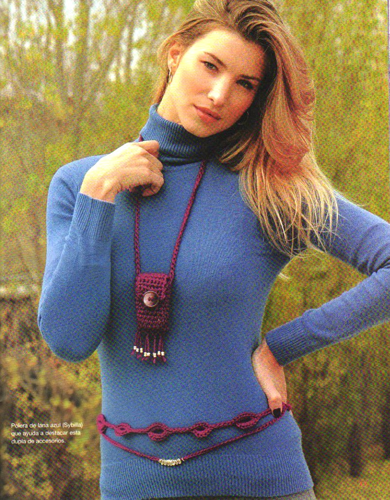 Porta Telefono Movil a Crochet