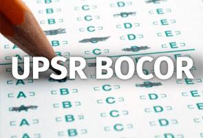 Ujian UPSR Bocor