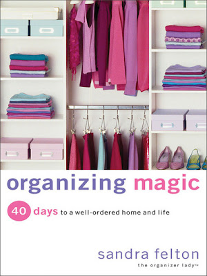 book cover - Organizing Magic, by Sandra Felton