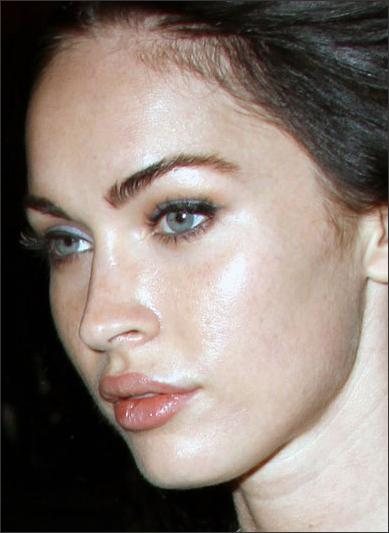 Funny Image Clip Celebrity Awful Megan Fox Plastic