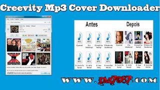 Imagem do Programa Creevity Mp3 Cover Downloader
