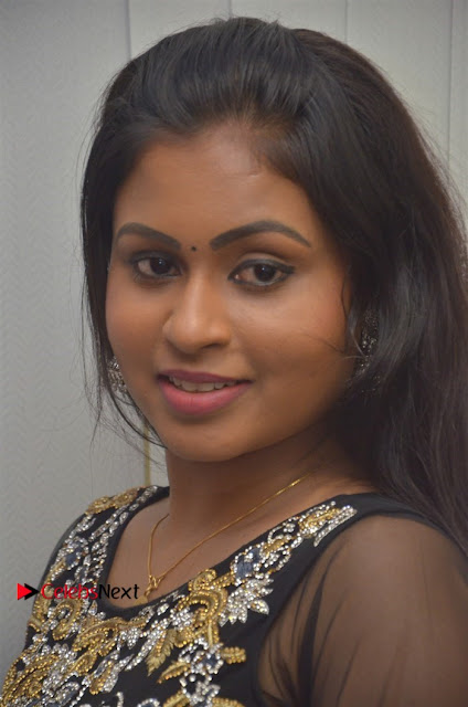 Tamil Actress Shreya Sri Stills in Black Akarkali Dress at Vanga Vanga Team Interview  0001.jpg