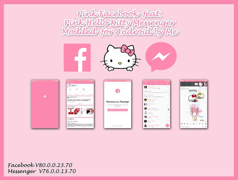Free download hello kitty facebook themes for android   Download
