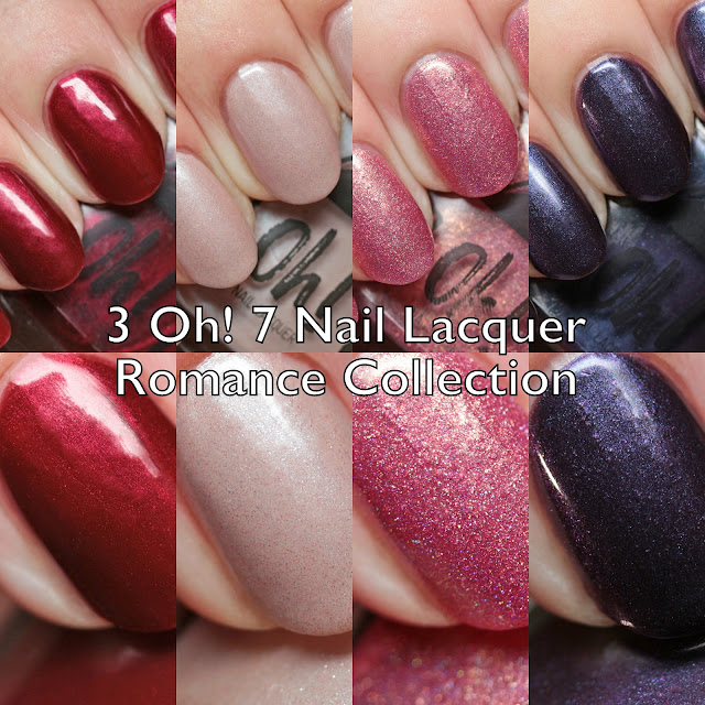 3 Oh! 7 Nail Lacquer Romance Collection