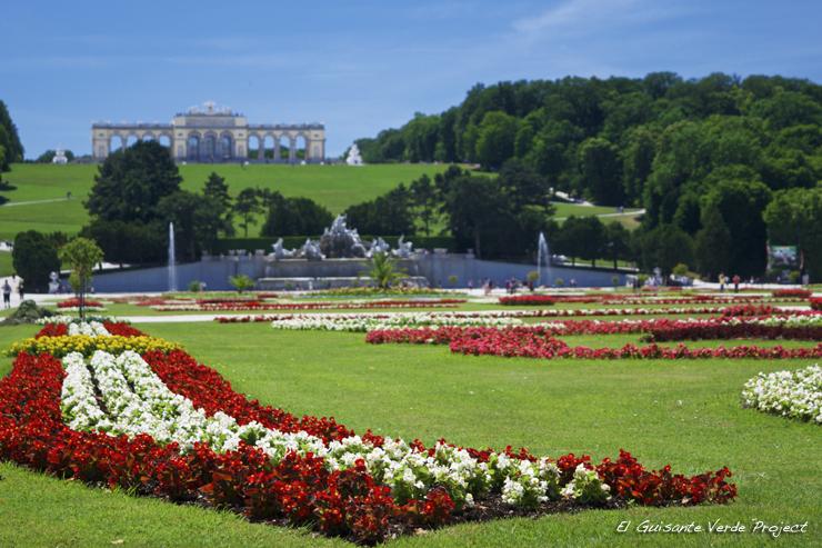 Glorieta del Palacio de Schönbrunn - Viena, por El Guisante Verde Project