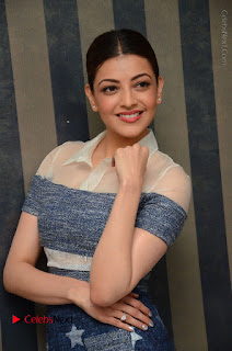 Actress Kajal Agarwal Latest Stills at Khaidi No 150 Movie Interview  0109.JPG