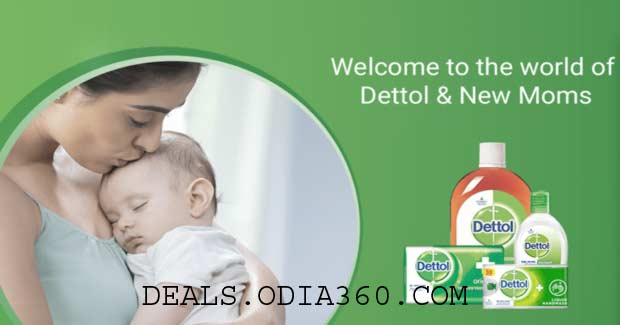 Get Samples Of Dettol & Mom Kit Of Rs.130 For Free