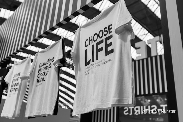 CHOOSE LIFE! by Katherine Hamnett - George Michael - Wake me up before you gogo - Wham