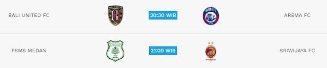 Jadwal Liga 1 Jumat 18 Mei 2018 - Siaran Langsung Indosiar