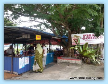 SMALL KUCING: Pisang Goreng Warisan Bonda, Kuala Trengganu