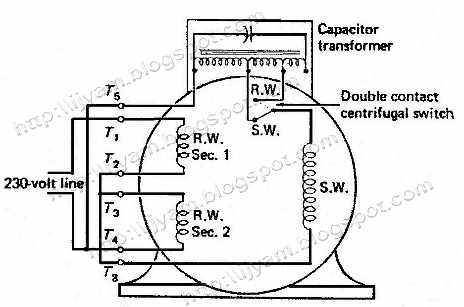 120 volt reversible motor wiring diagrams