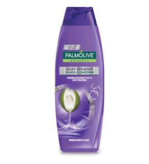 Palmolive Naturals Silky Straight Shampoo 350 ML