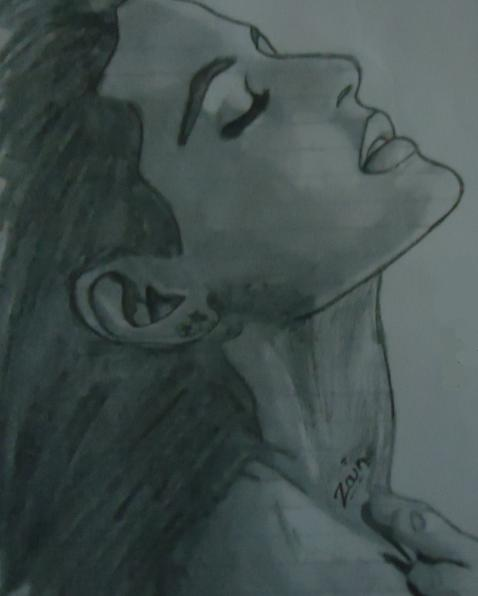 Pencil Sketches & Painting : Romantic couple sketch