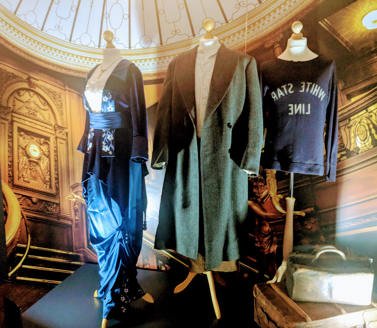 Preston Park - Behind the Seams | 10 reasons to visit with tweens and teens  - costumes from the Titanic movie