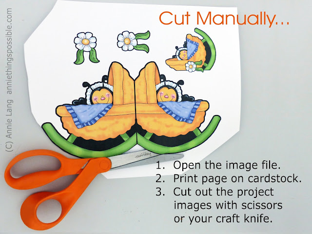 Follow this step by step tutorial How to by Annie Lang for options on how to use Paper Clip Printable Project images