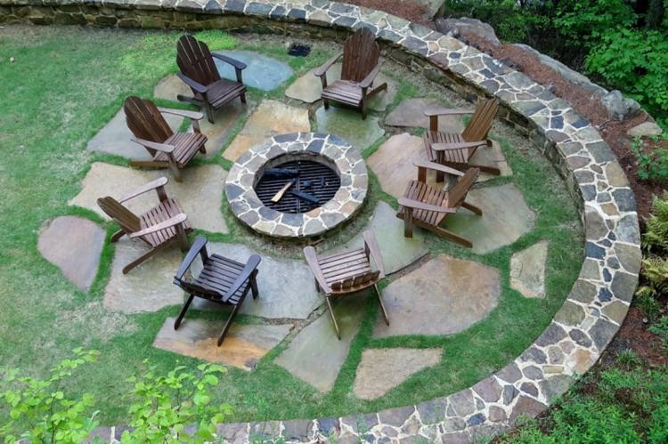 Decorar Jardim Paisagismo moderno com pedras ~ Decoraç u00e3o e Ideias -> Decoração De Jardim Com Pedras Grandes