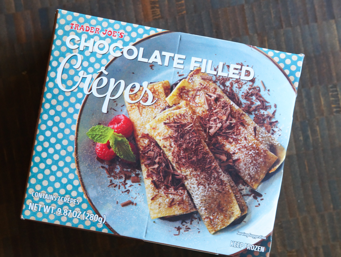 Trader Joe's Chocolate Filled Crepes review
