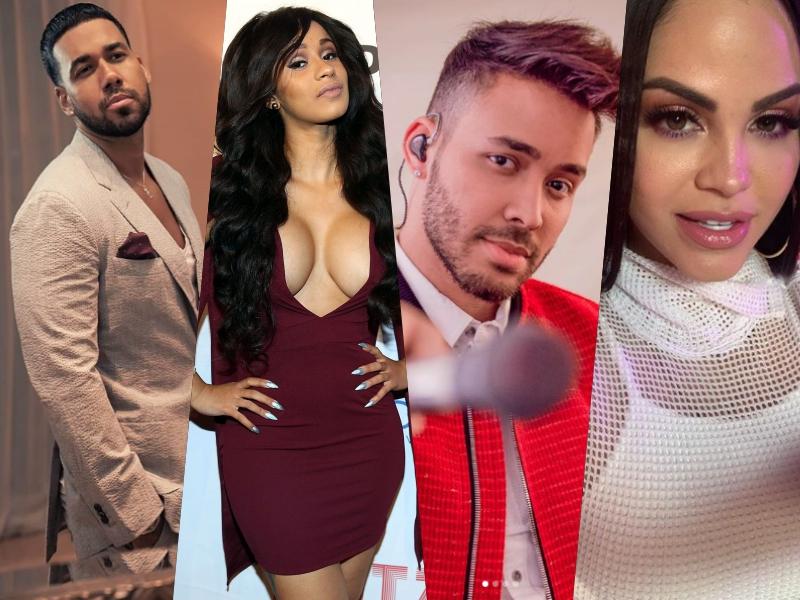 Artistas dominicanos que competirán en Latin Billboards 2019