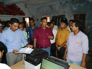 commissioner-visit-laukhi-madhubani