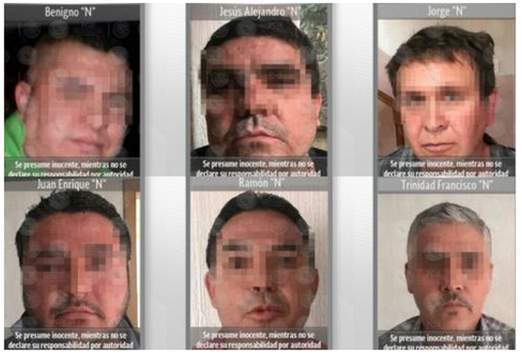 """ATORAN EN LA CDMX A 6 ESCOLTAS DEL MINI-LIC """"BIEN ENSILLADOS""""... SE CAYO LA PROTECCION QUE SE CALLA """"DAMASO"""""""