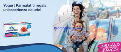 Logo Parmalat ti regala i biglietti parchi divertimenti