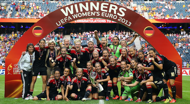 Todos os campeões da Eurocopa Feminina